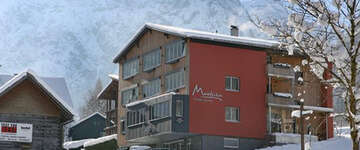 Hotel Madrisa im Winter