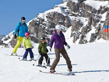 The Brandnertal – a ski area for families  | photo: Alpenregion Bludenz